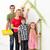 family painting together stock photo © ilona75