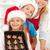 счастливая · семья · пряничный · Cookies · Рождества · время - Сток-фото © ilona75