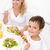 кухне · еды · Салат · улыбаясь · мальчика - Сток-фото © ilona75