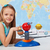 young girl study solar system in science class stock photo © ilona75