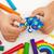 ребенка · играет · красочный · глина · рук - Сток-фото © ilona75