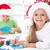 feliz · crianças · natal · cartões - foto stock © ilona75