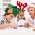 kids decorating gingerbread cookies stock photo © ilona75