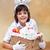 páscoa · cesta · colorido · ovos - foto stock © ilona75