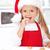 little girl decorating christmas cookies stock photo © ilona75