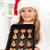 feliz · natal · menina · bolinhos - foto stock © ilona75