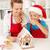 счастливая · семья · Рождества · время · кухне · пряничный · дома - Сток-фото © ilona75