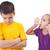 Mocking and teasing among children stock photo © ilona75