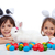 szczęśliwy · mały · chłopca · królik · kłosie - zdjęcia stock © ilona75