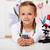 junge · Mädchen · Biologie · Klasse · halten · Sämling · Mädchen - stock foto © ilona75