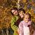 séta · park · család · ősz · portré · lány - stock fotó © ilona75