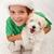 en · iyi · Noel · sunmak · köpek · yavrusu · köpek - stok fotoğraf © ilona75