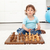 little toddler boy with chess board stock photo © ilona75