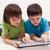 moderne · onderwijs · online · leren · mogelijkheden · jongens - stockfoto © ilona75