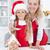 pão · de · especiarias · bolinhos · casa · natal · mulher - foto stock © ilona75