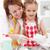 dziewczynka · matka · kobieta · uśmiech · szczęśliwy - zdjęcia stock © ilona75