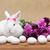 tavasz · fehér · nyuszi · vár · húsvét · szezonális - stock fotó © ilona75