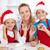 çocuklar · zencefilli · çörek · Noel · kurabiye · komik - stok fotoğraf © ilona75