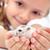 komik · hamster · el · yalıtılmış · beyaz · hayvanlar - stok fotoğraf © ilona75