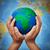 ecologia · terra · bambino · mani · mondo - foto d'archivio © ilona75