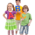 back to school   kids holding large abc letters stock photo © ilona75