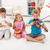 kids trying to play on different musical instruments stock photo © ilona75