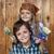 kids ready to repaint wooden wall stock photo © ilona75