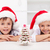kids at christmas time with gingerbread tree stock photo © ilona75