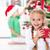 Natale · infanzia · estatica · bambina · presenti · ragazza - foto d'archivio © ilona75