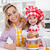 happy woman and child making fresh orange juice stock photo © ilona75