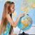 giovane · ragazza · mondo · istruzione · ragazza - foto d'archivio © ilona75