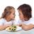 Kinder · string · Pasta · Teilung · Platte · gesunde · Lebensmittel - stock foto © ilona75