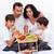 здорового · завтрак · кровать · семьи · еды · плодов - Сток-фото © ilona75
