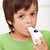 boy with inhaler   closeup stock photo © ilona75