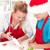 украшенный · Рождества · Cookies · женщину · ребенка - Сток-фото © ilona75
