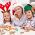 Happy family decorating christmas cookies stock photo © ilona75