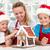 zencefilli · çörek · kurabiye · ev · aile · Noel · zaman - stok fotoğraf © ilona75
