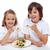 kind · eten · smakelijk · pasta · maaltijd · gelukkig - stockfoto © ilona75