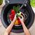 yıkama · sebze · eller · kadın · mutfak · su - stok fotoğraf © ilona75