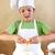 ragazzo · uova · farina · alimentare - foto d'archivio © ilona75