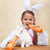 Bunnies eating large carrots stock photo © ilona75