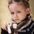 女の子 · 鼻をかむ · 母親 · 支援 · 娘 - ストックフォト © ilona75