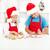 kids decorating christmas cookies stock photo © ilona75
