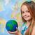 mondo · mani · bambina · geografia · classe - foto d'archivio © ilona75