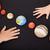 crianças · mãos · planetas · sistema · solar · ciência · casa - foto stock © ilona75