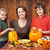 happy family preparing for halloween stock photo © ilona75