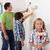 ragazzi · padre · pittura · stanza · vernice · focus - foto d'archivio © ilona75
