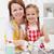 kobieta · dziewczynka · kuchnia · wraz · uśmiech - zdjęcia stock © ilona75