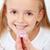 ребенка · Focus · капсула · передний · план · девушки - Сток-фото © ilona75
