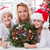 our first home made advent wreath   family at christmas time stock photo © ilona75